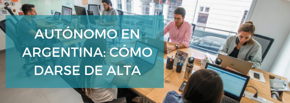 Darse de alta como autónomo en Argentina