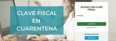afip clave fiscal cuarentena