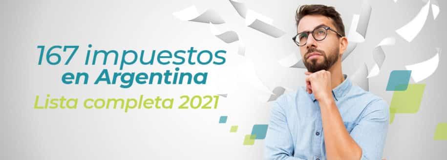 167 impuestos argentina 2021 lista