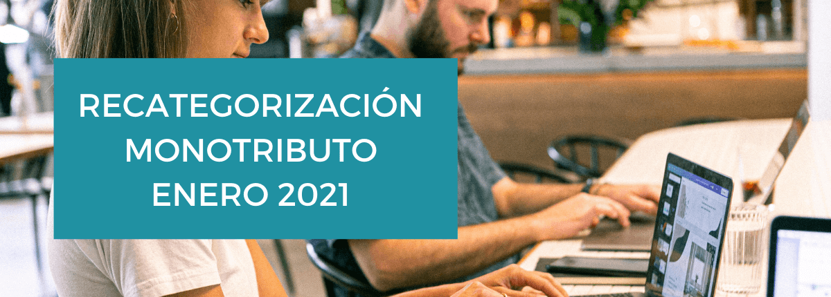 recategorizacion monotributo 2021