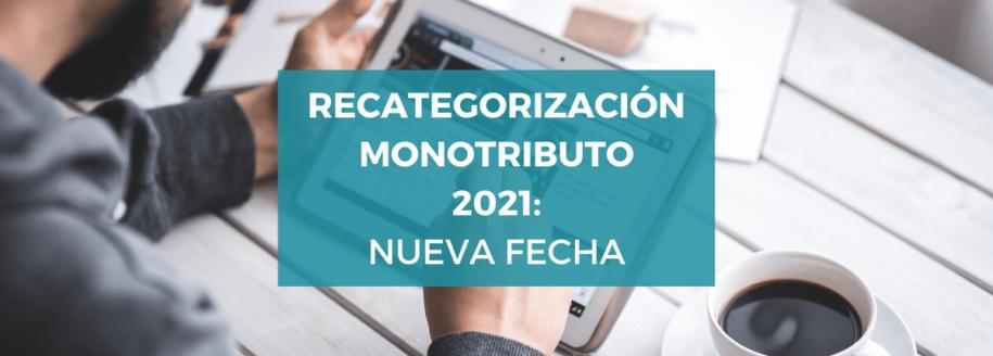 fechas-recategorización-monotributo-2021