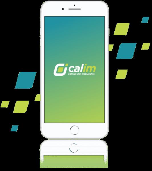 calim logo impuestos celular